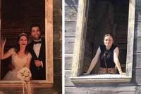 Wife of fallen Turkish soldier recreates wedding photos as touching tribute
