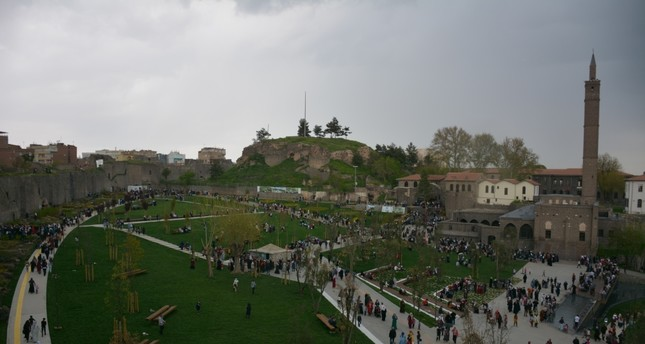 The İçkale citadel sees a surge in visitors after being restored to its former glory.