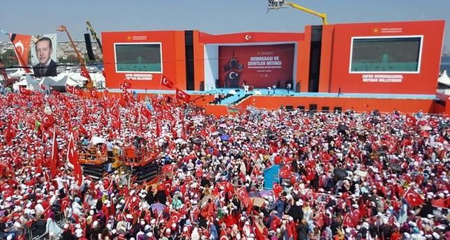 اسطنبول تشهد اليوم مهرجان مليوني تاريخي بحضور أردوغان وزعماء المعارضة