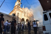 Car bomb near church injures 7 in Syria's Qamishli