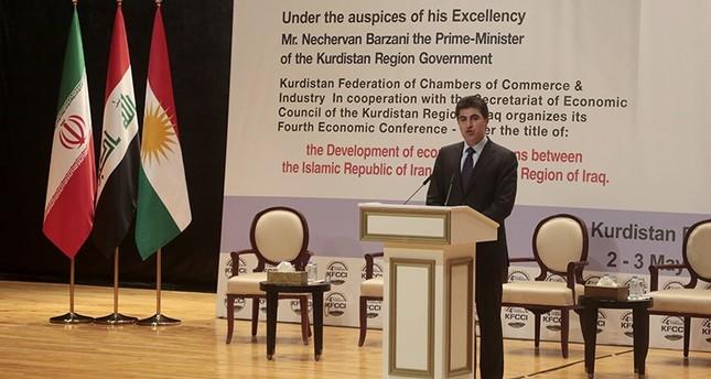 حكومتا شمال العراق وإيران تعملان على إقامة منطقة تجارة حرة مشتركة