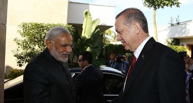 أردوغان يزور الهند غدًا لتعزيز العلاقات التجارية