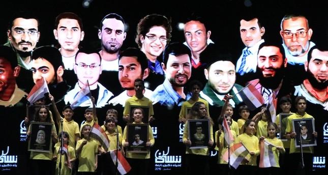مبادرة حراك المصرية تحيي الذكرى السادسة لفض اعتصام رابعة في إسطنبول