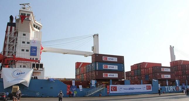 سفينة المساعدات التركية الثانية إلى قطاع غزة