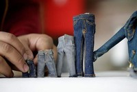 Life in miniature: Tailor sews small wonders in central Turkey