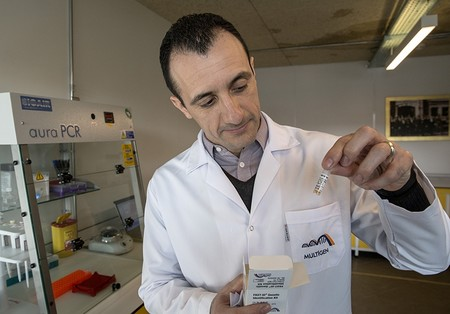 Prof. Onay says his goal is to reduce the time needed to get results to about 10 minutes.