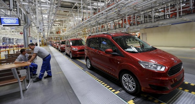 Turkish auto production hits record high in January-February on robust exports