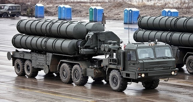 S400 missile defense system developed by Russia