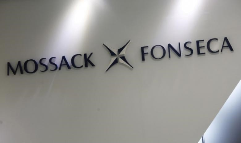 The company logo of Mossack Fonseca is seen inside the office of Mossack Fonseca & Co. (Asia) Limited in Hong Kong, China April 5, 2016. (Reuters Photo)