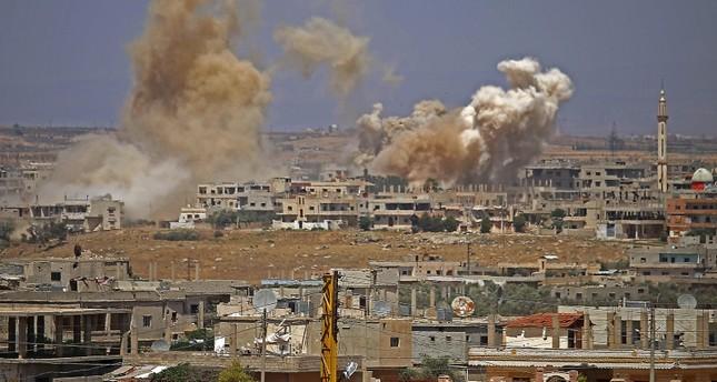 رغم الحديث عن هدنة.. عودة أصوات القصف في درعا السورية