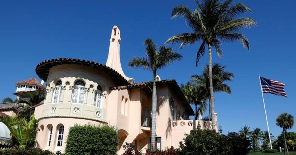 : U.S. President Donald Trump's Mar-a-Lago estate in Palm Beach, Florida, U.S., March 22, 2019 (Reuters Photo)