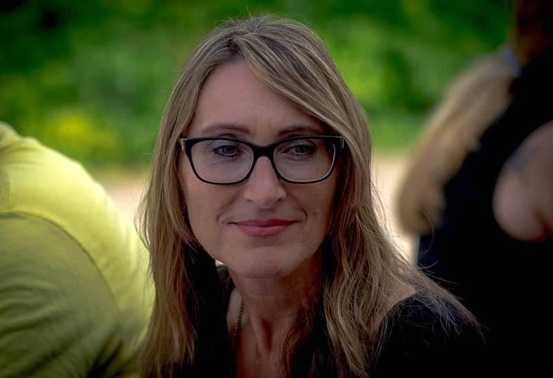 German politician Cornella Jehle (IHA Photo)