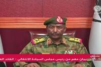 القائد العام للجيش السوداني عبد الفتاح البرهان في خطاب مباشر الأناضول
