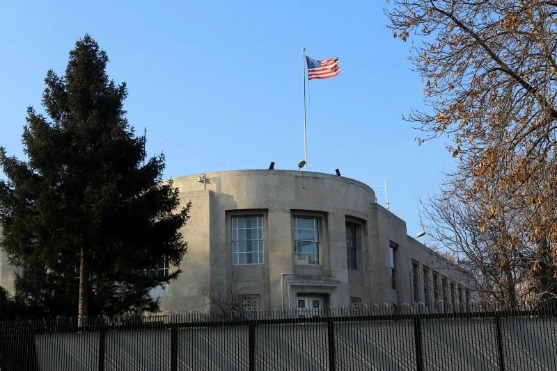 U.S. Embassy, in Ankara. (AFP Photo)
