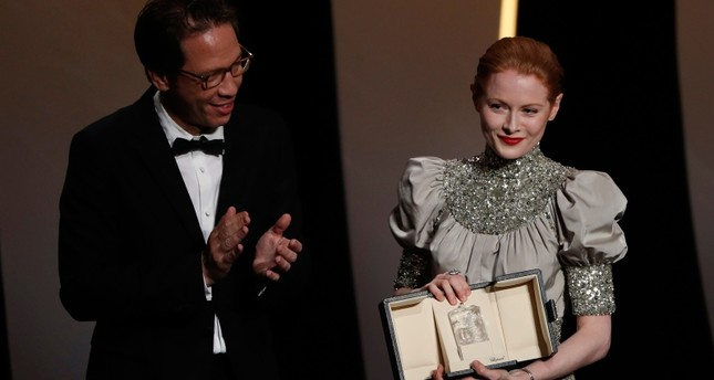 Britain's Emily Beecham wins best actress at Cannes film festival