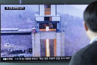 North Korea has conducted a ground test of a new type of high-thrust rocket engine that leader Kim Jong Un is calling a revolutionary breakthrough for the country's space program, the North's state...