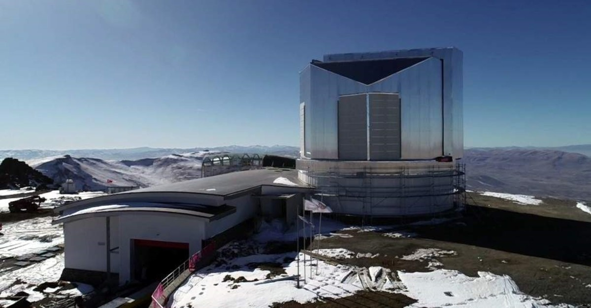 The Eastern Anatolian Observatory is located in Erzurum at an altitude of 3,170 meters. (AA Photo)