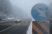جبل بولو التركي يستقطب الزوار بعد ارتدائه حلة الثلوج البيضاء