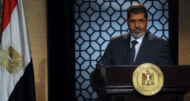 Mohammed Morsi, the first democratically elected president of Egypt.