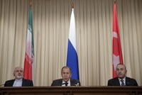 Turkey, Iran shake hands on joint mechanism with Russia in Idlib