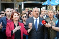 CHP Istanbul mayoral candidate under fire for threatening female district runner
