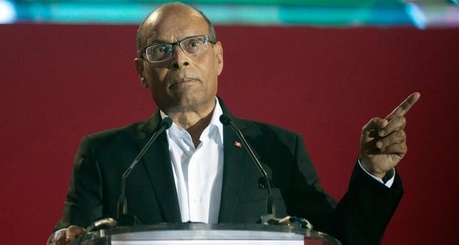 الرئيس التونسي الأسبق، المنصف المرزوقي أسوشيتد برس