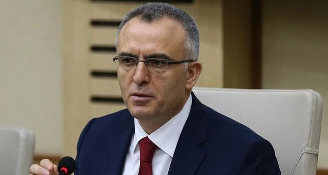 وزير المالية التركي ناجي آغبال وكالة الأناضول للأنباء