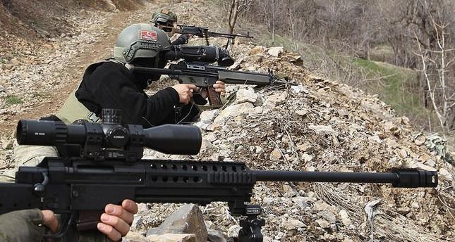 القوات التركية تحيّد 3 إرهابيين خلال عملية أمنية بريف ماردين