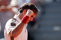 Federer, Nadal in record 14th French Open fourth round, Pliskova out