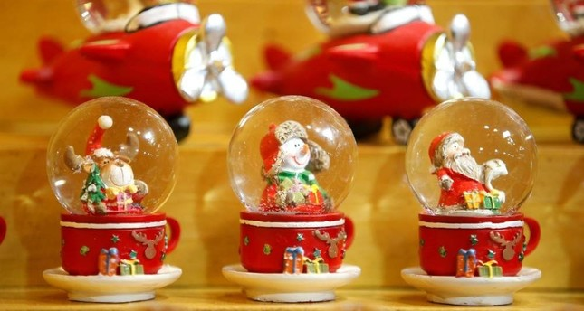 You can find cute decorations for Christmas and New Year's Eve at the holiday markets. (REUTERS)
