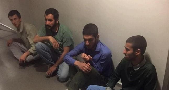 PKK terrorists nabbed in Sinjar IHA Photo