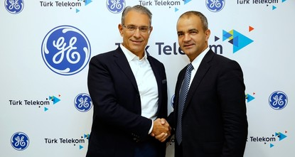 pTurkish telecommunications giant Türk Telekom on Thursday signed a deal with American energy giant and conglomerate General Electric (GE) Digital to explore collaboration in the area of the...
