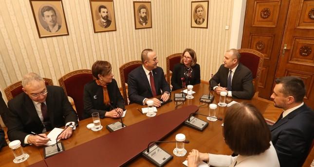 الرئيس البلغاري:نهدف إلى رفع حجم التجارة مع تركيا إلى 10 مليارات يورو