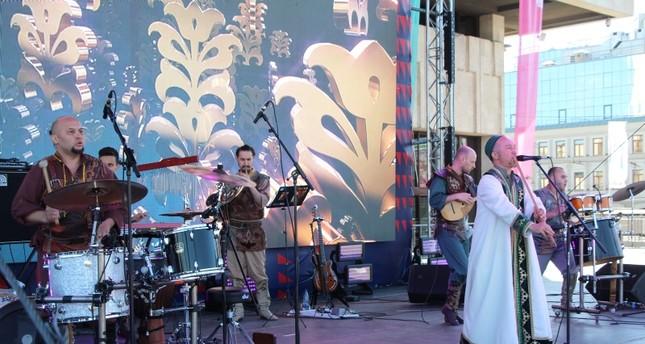 المهرجان الدولي الـ14 لمسرح الشعوب التركية ينطلق في تتارستان