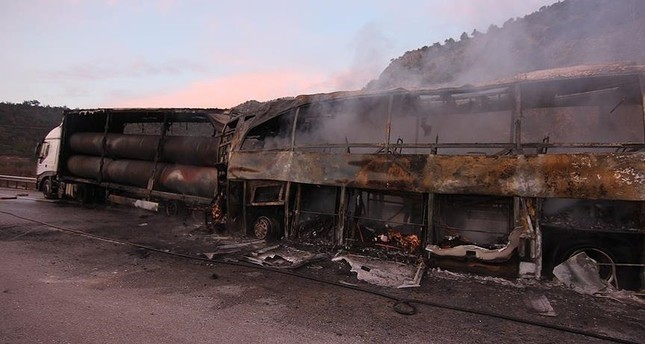 13 قتيلاً و19 جريحاً في حادث طرق شمالي تركيا