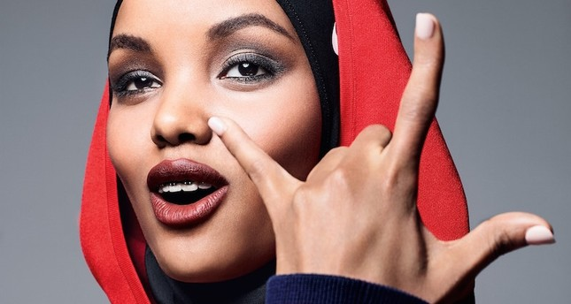 Halima Aden shines as Allure's first hijabi covergirl