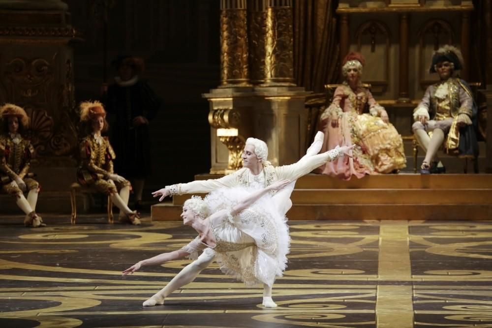 A scene from the Bolshoi Ballet.