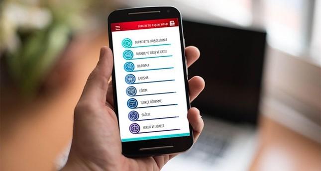إدارة الهجرة التركية تطلق تطبيقاً للهواتف المحمولة بـ6 لغات