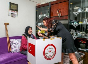 Mobile ballot boxes offered to elderly, sick voters in Turkey's June 24 elections