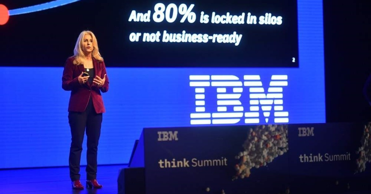IBM Vice President for Artificial Intelligence and Global Sales Alyse Daghelian.(Photos Courtesy of IBM Turkey)