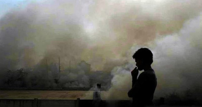 Air pollution also increases the lifelong risk of heart disease, stroke and cancer. AFP Photo