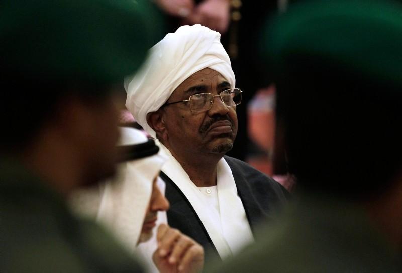 In this Oct. 25, 2011 file photo, Sudanese President Omar al-Bashir attends the funeral of Saudi Crown Prince Sultan bin Abdul-Aziz Al Saud, in Riyadh, Saudi Arabia. (AP Photo)