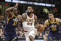 LeBron James' numbers have done more than move the Cavaliers near the top of the Eastern Conference. He also has placed himself squarely in the discussion to win his fifth Most Valuable Player...