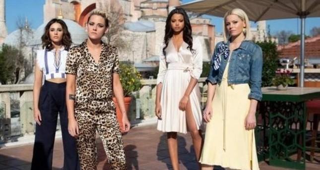 Charlie's Angels features Naomi Scott, Kristen Stewart, Ella Balinska and Elizabeth Banks, respectively.
