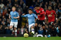 City's title hopes fade as United wins Manchester derby