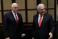 Visa crisis, extradition of Gülen, weapons provided to YPG discussed in 'very productive' Yıldırım-Pence meeting