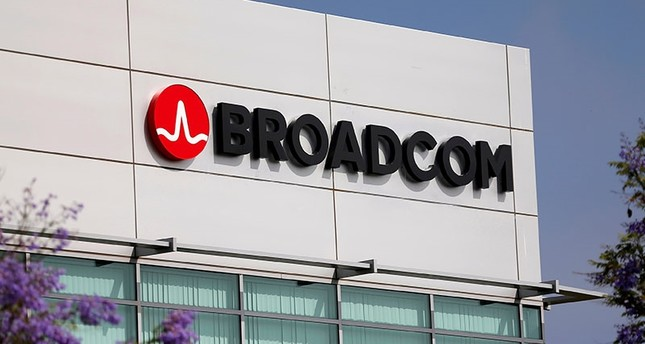 Broadcom Limited company logo is pictured on an office building in Rancho Bernardo, California. (Reuters Archive Photo)