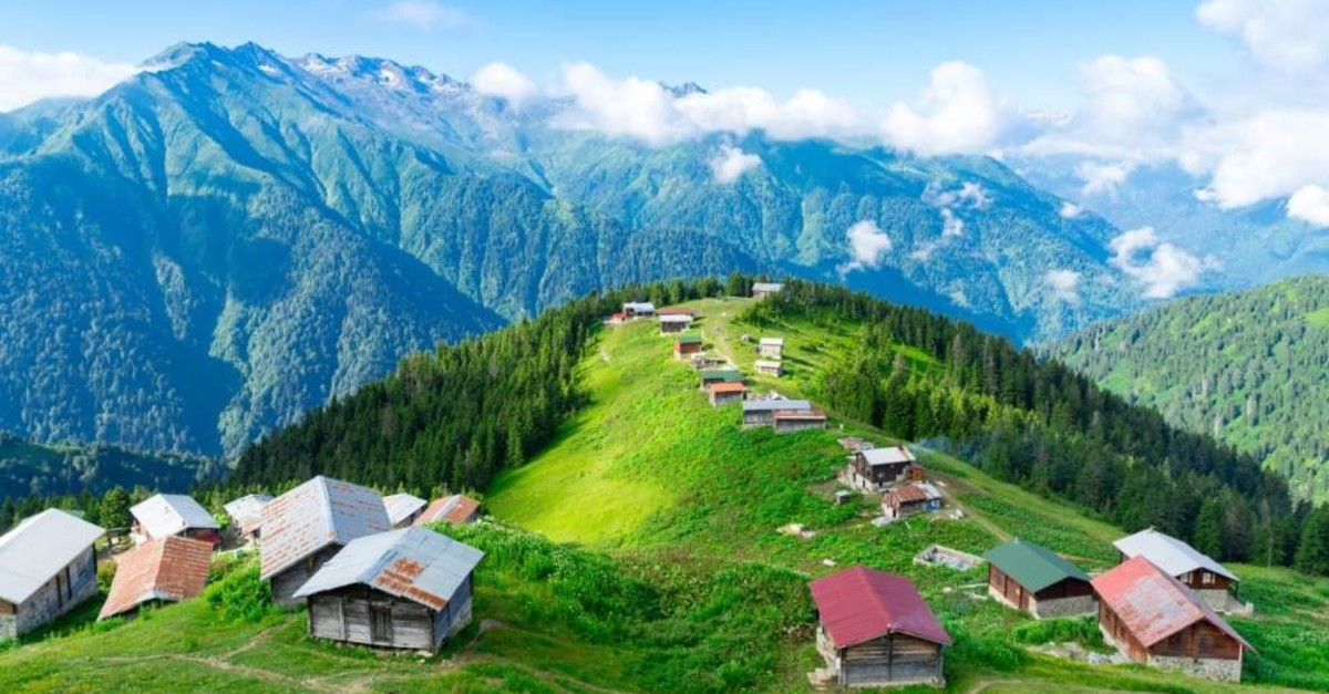 Situated in Rize's u00c7amlu0131hemu015fin district, the Pokut Plateau attracts tourists and nature lovers with its unique natural beauty. (iStock Photo)