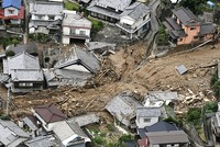 Death toll rises to 76 as heavy rains hammer southern Japan