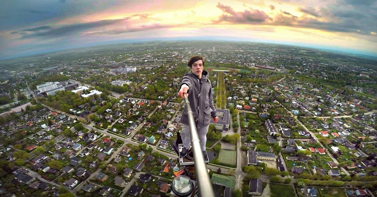 Young people take huge risks to take the most challenging selfies to get more likes on social media.